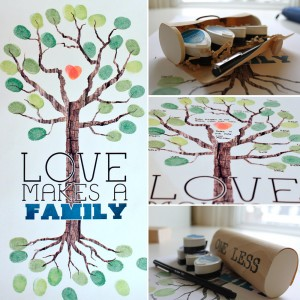 Love Makes a Family - Tree