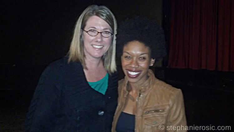 Me with Angela Tucker